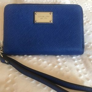 Gorgeous Michael Kors Wristlet.  Never Used.